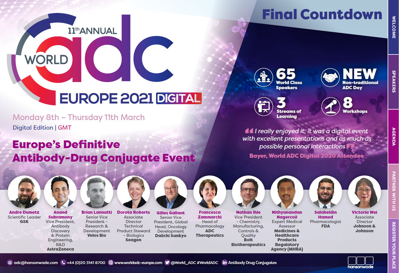 World ADC Europe Brochure